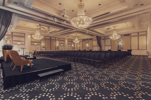 ballroom at scandic triangelsn in malmo sweden