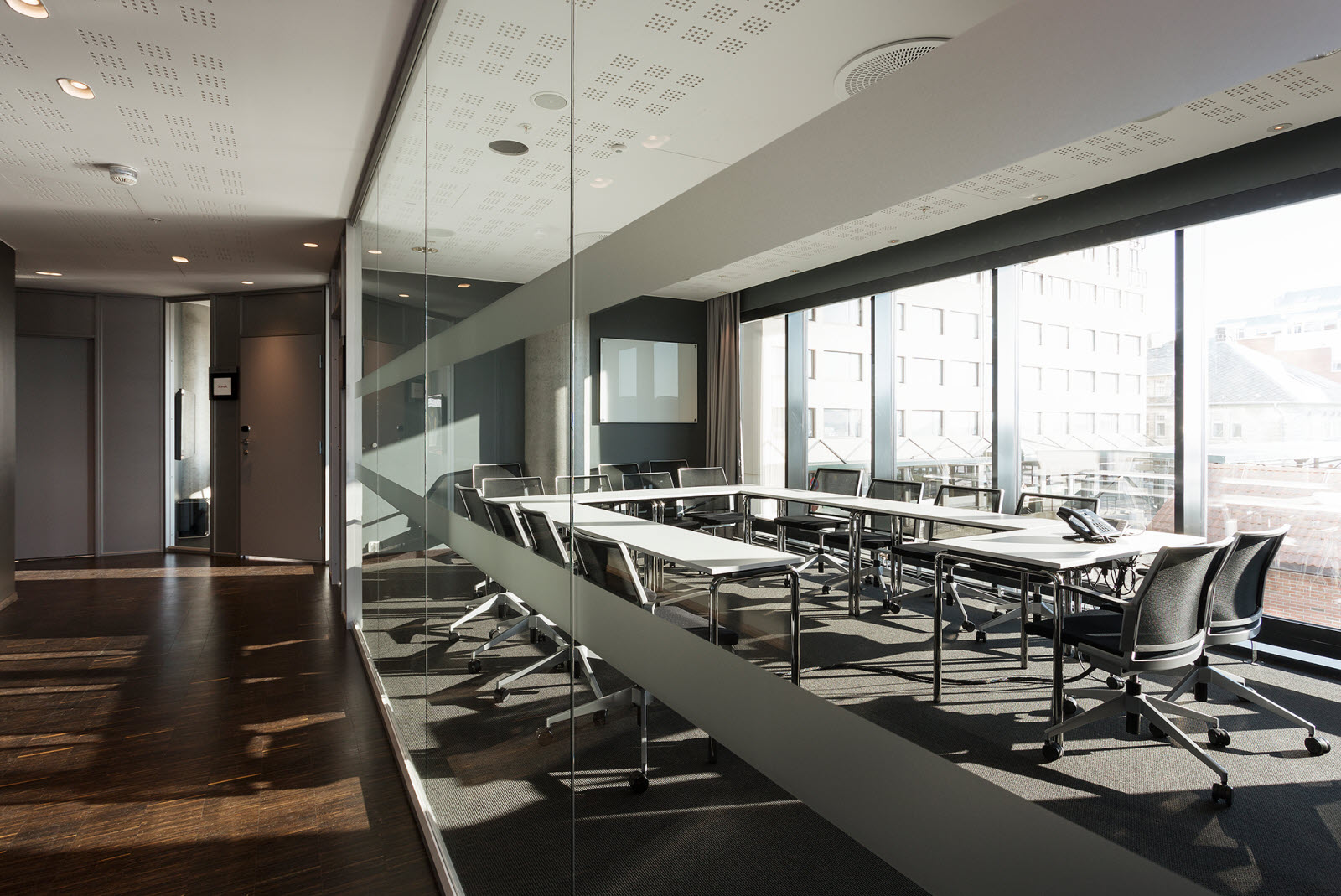 Scandic Havet, Bodo, meeting room, u-table