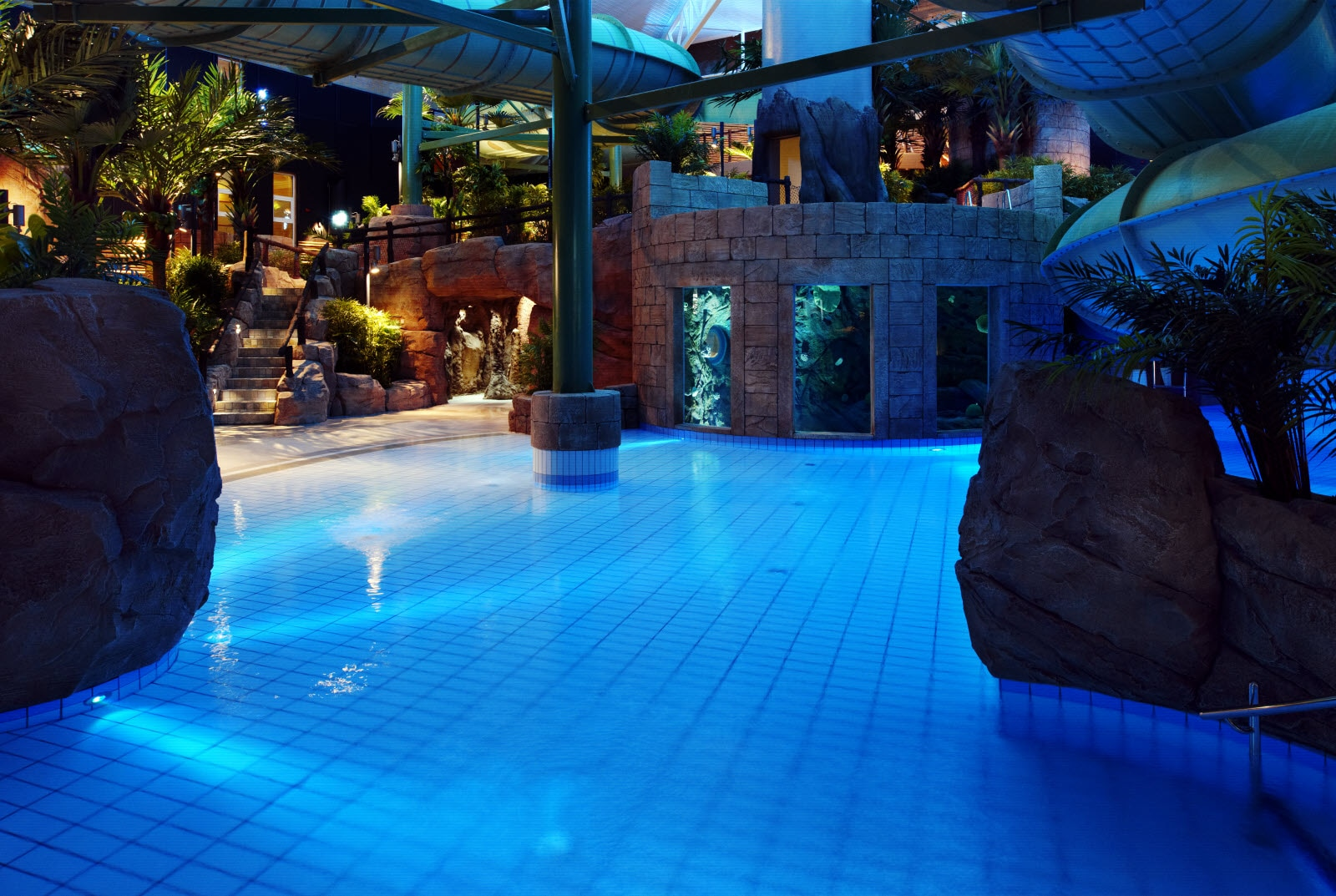 Scandic The Reef, adventure bath area, relax, pool