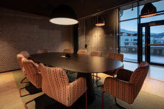 meeting room bula 1 at scandic voss in norway