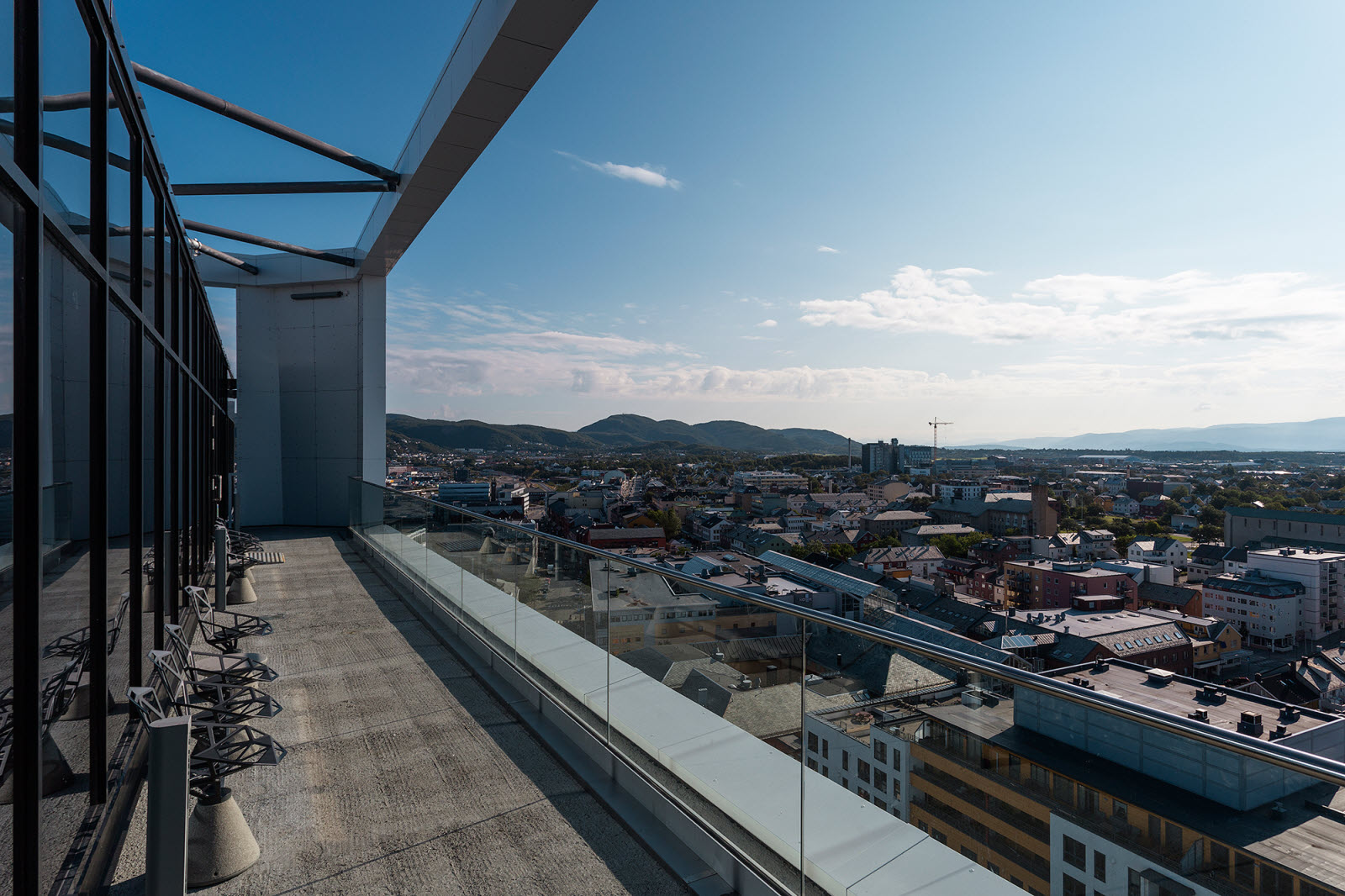 Scandic Havet, Bodo, roof top view