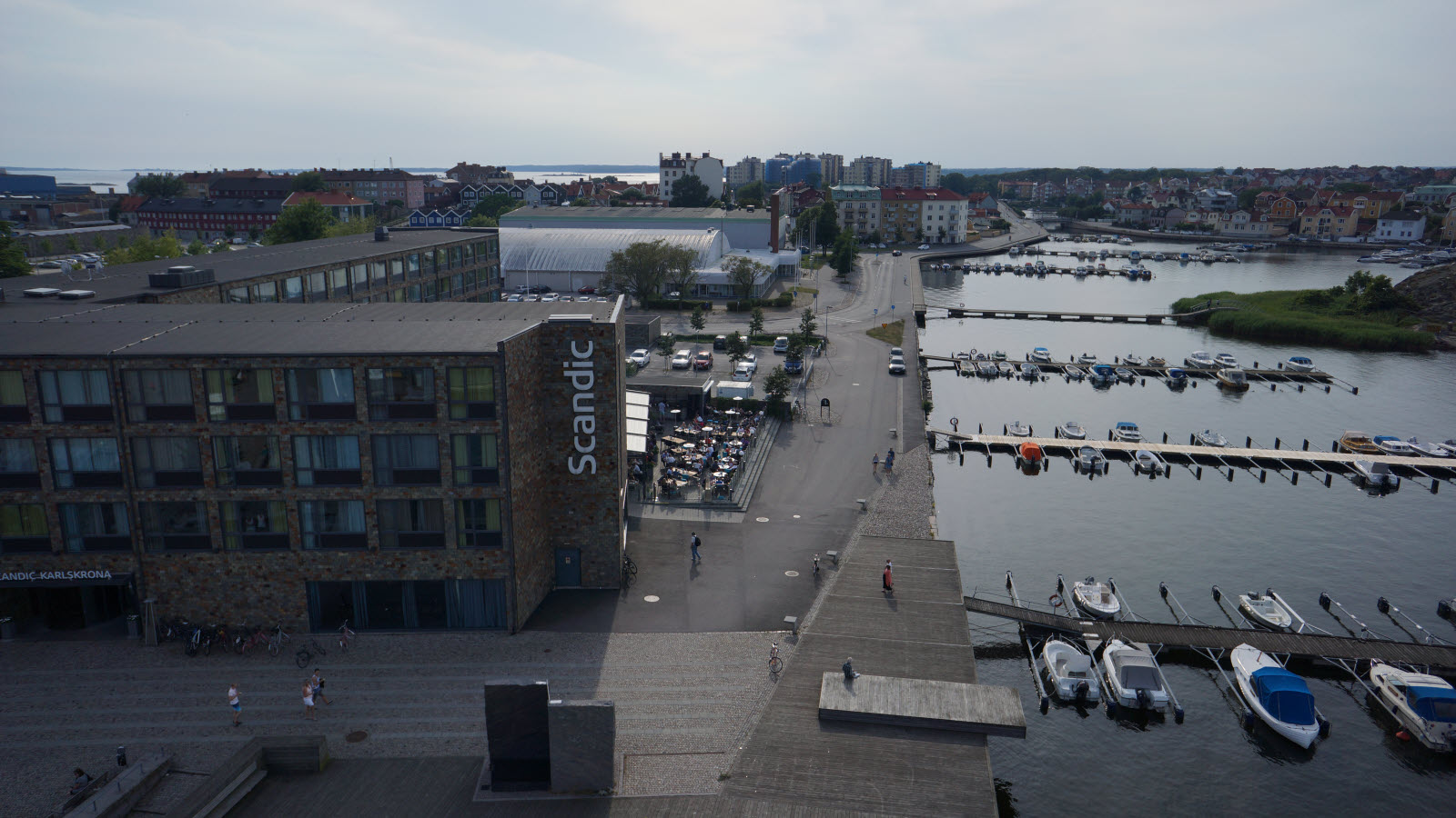 View over Karlskrona