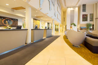 Scandic Nidelven, Trondheim, front desk, reception, lobby