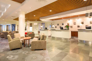 Scandic Seilet, reception, lobby