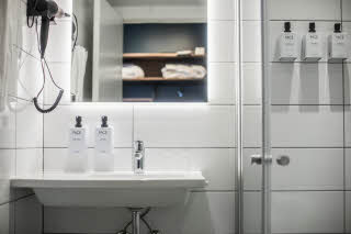 Superior Extra bathroom, Scandic Glostrup