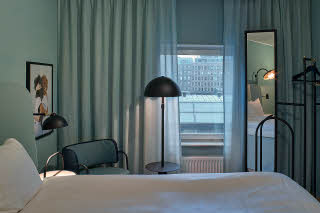 Beds in room Superior twin at Scandic Klara in Stockholm