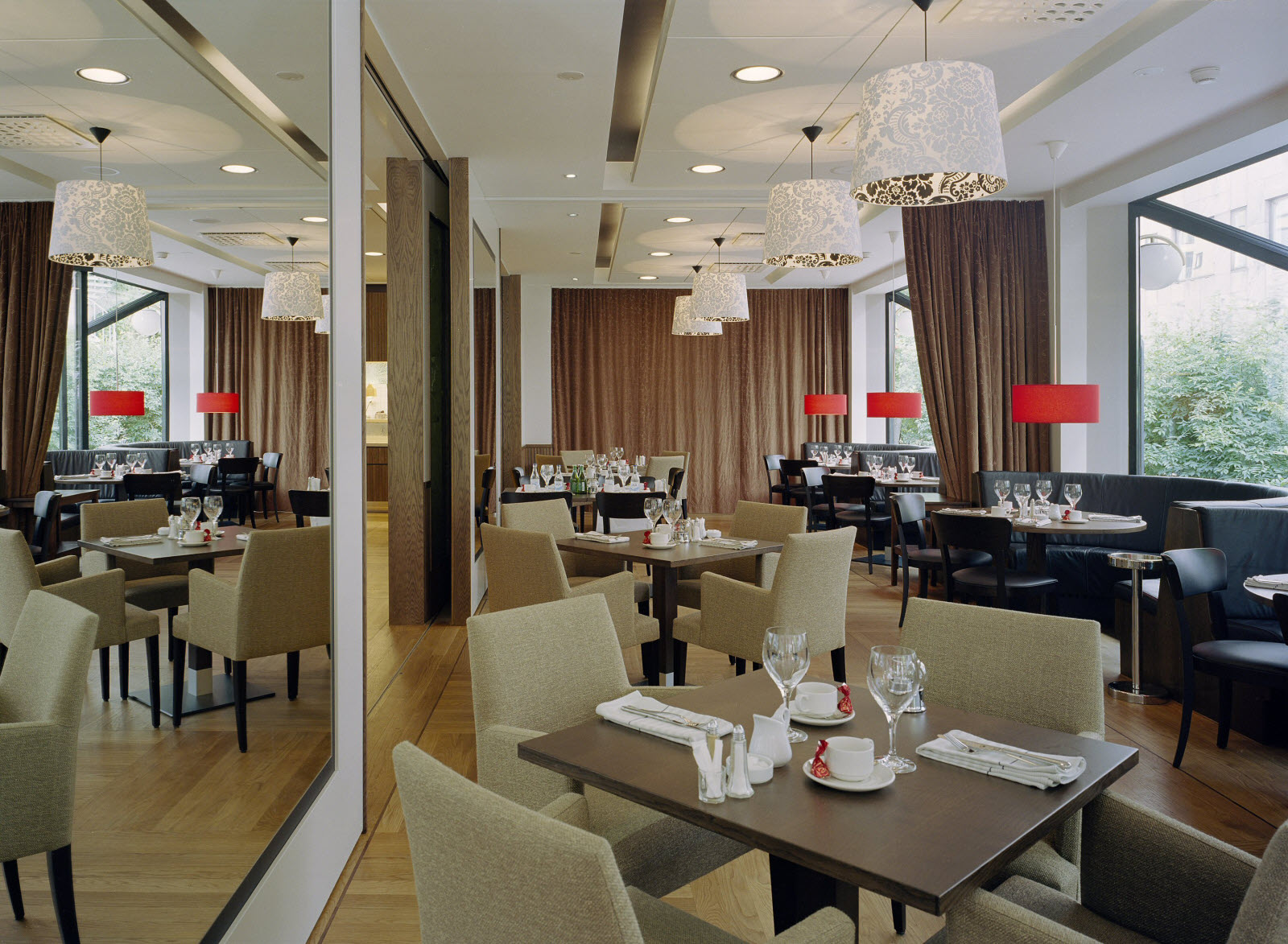 Park Village Bar & Brasserie, dining room