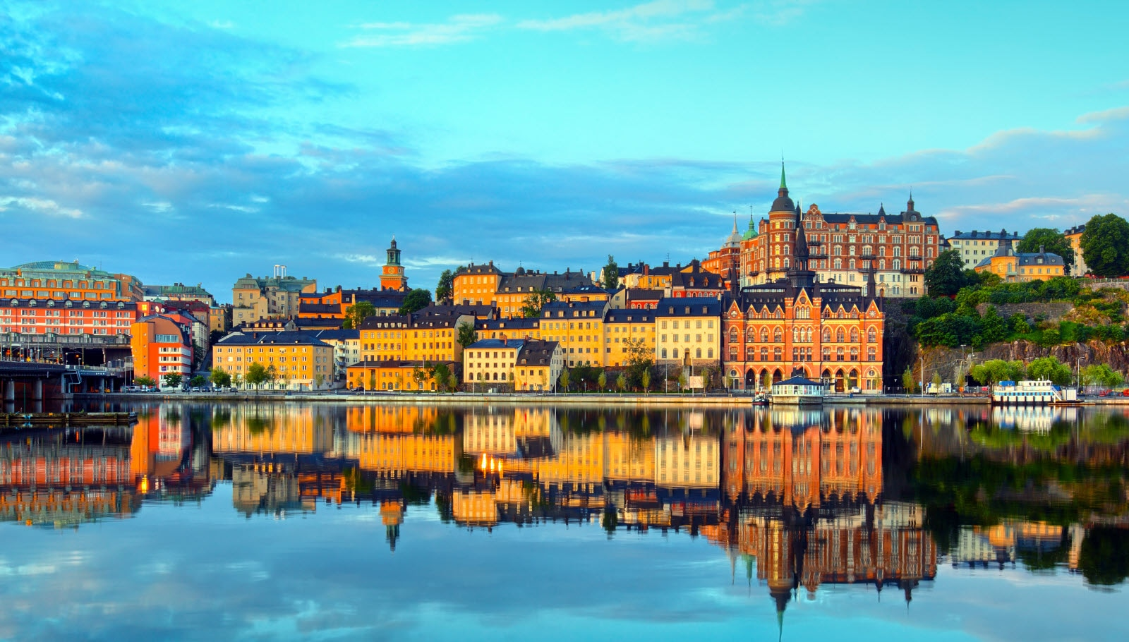 Stockholm early summer morning
