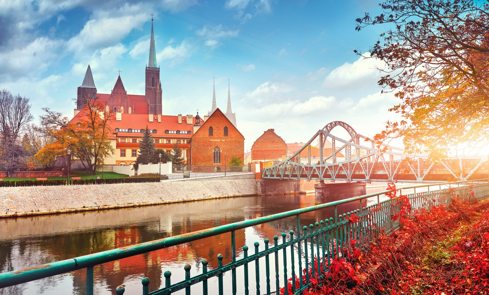 Autumn in Wroclaw