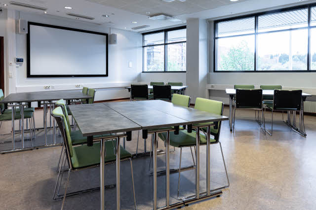 meeting room at scandic pasila in helsinki finland
