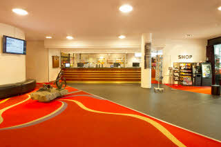 Scandic Parken, Alesund, front desk, reception, lobby