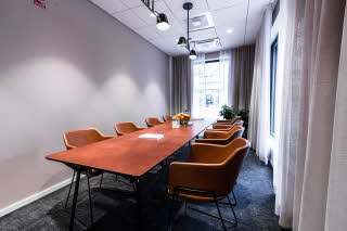 meeting room in scandic uplandia in uppsala sweden