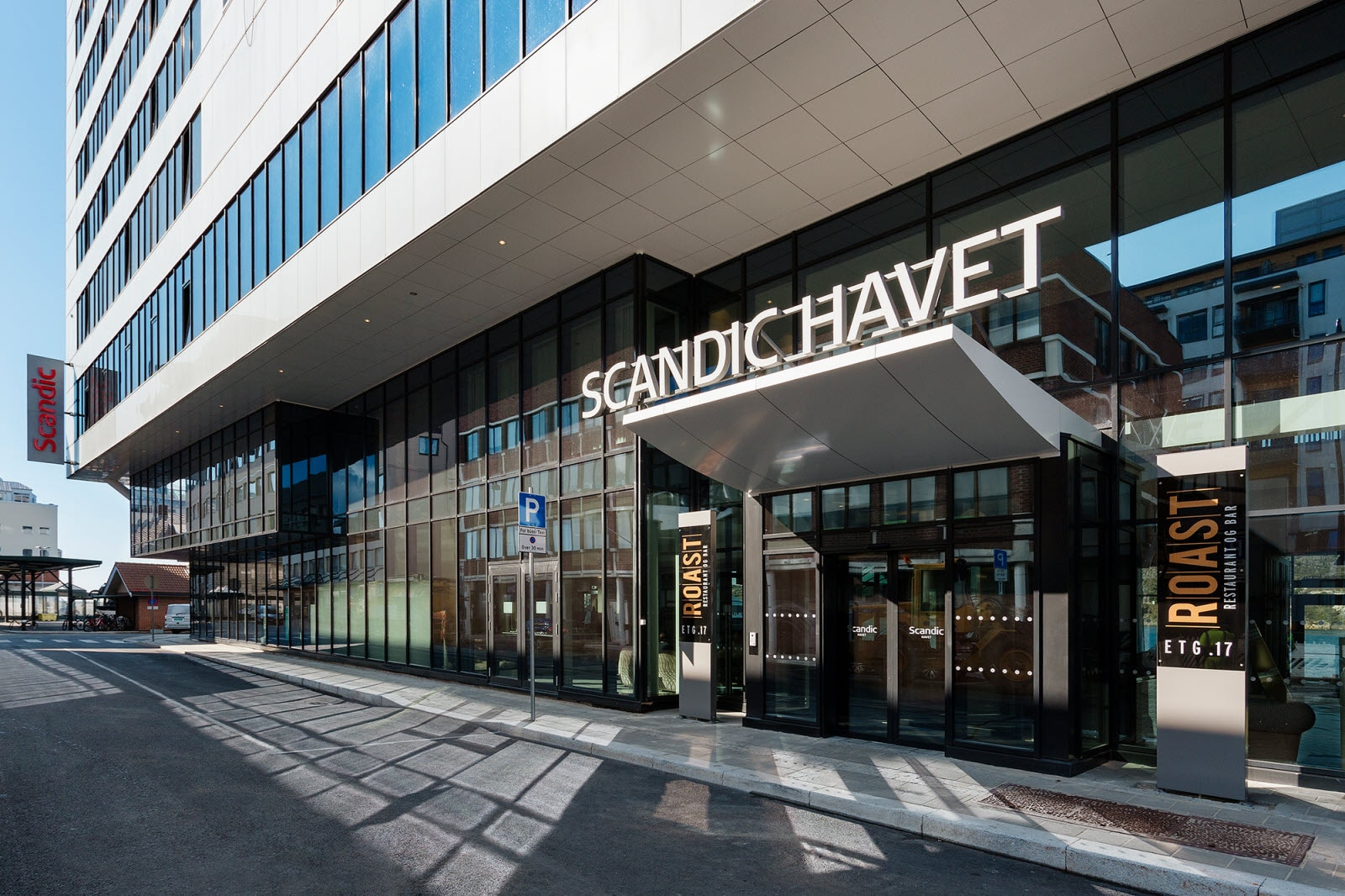 Scandic Havet, exterior