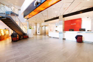 Scandic Hamar, reception, shop
