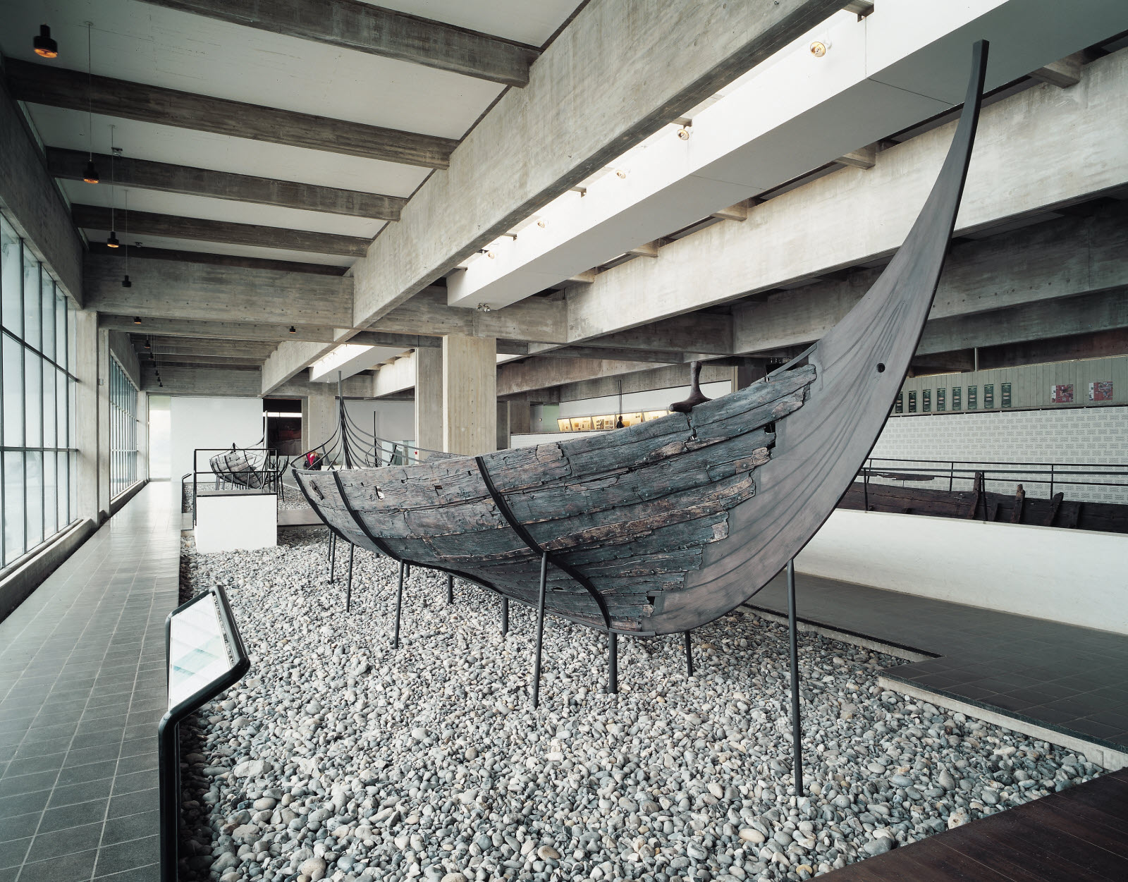 Viking ship, the museum of viking ships