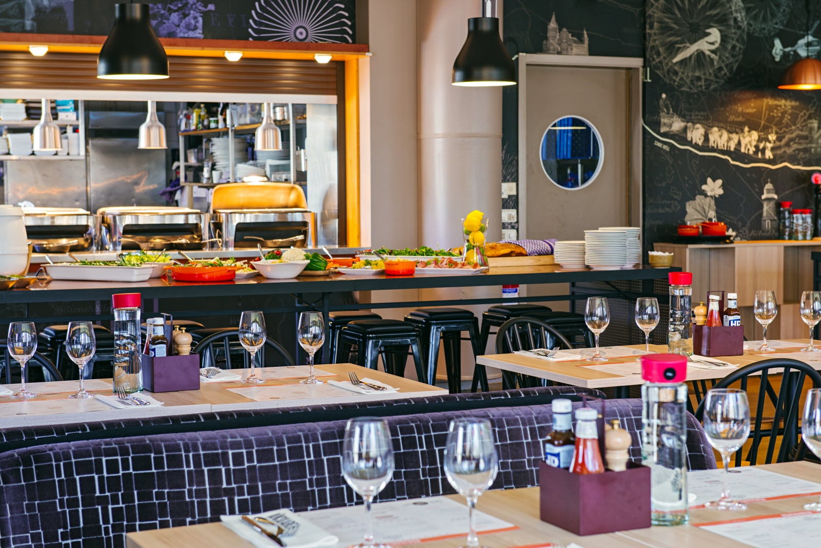 Scandic Vaxjo, restaurant, lunch buffet