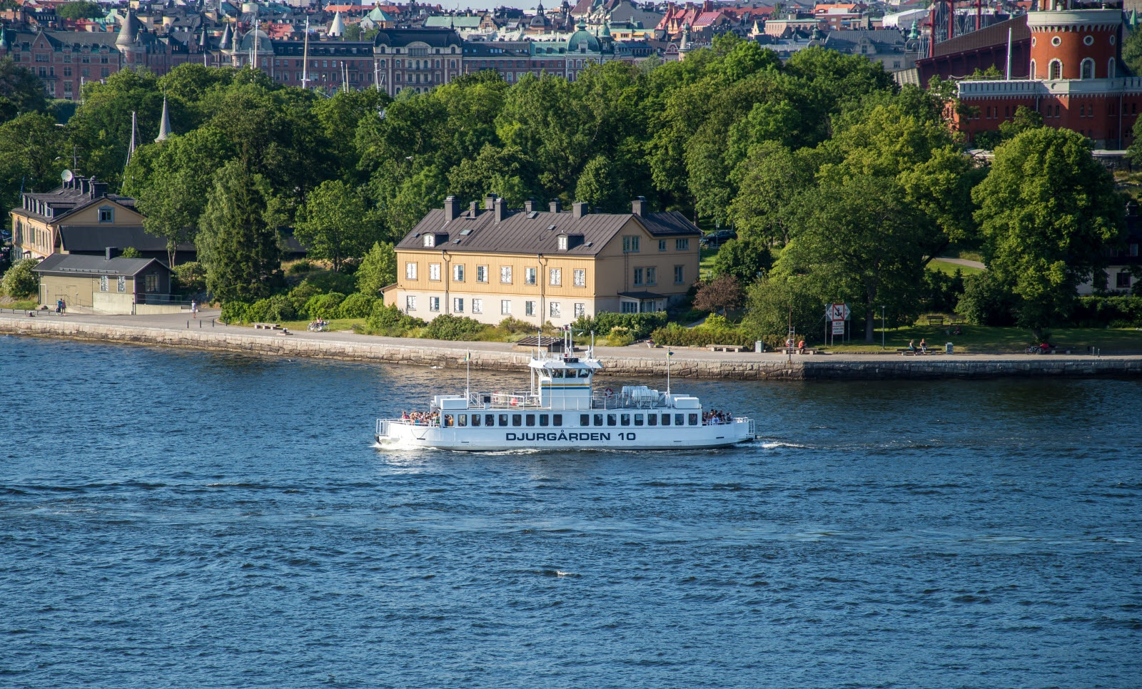 Ferry to Djurgarden