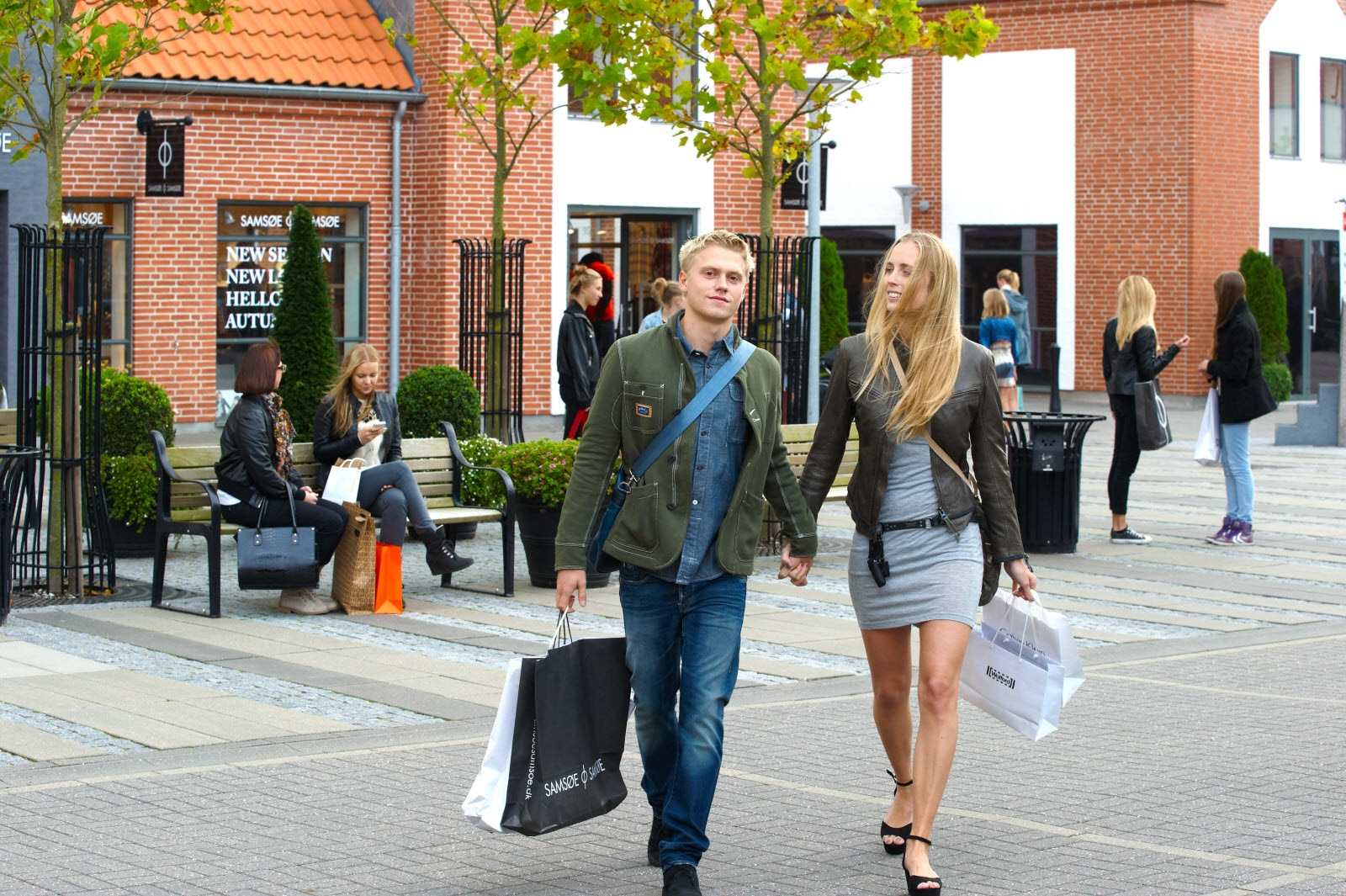 Shopping in Ringsted