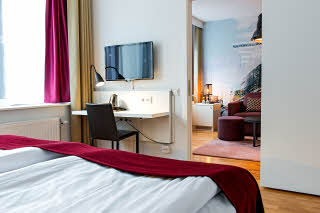 Scandic Sjofartshotellet, junior suite