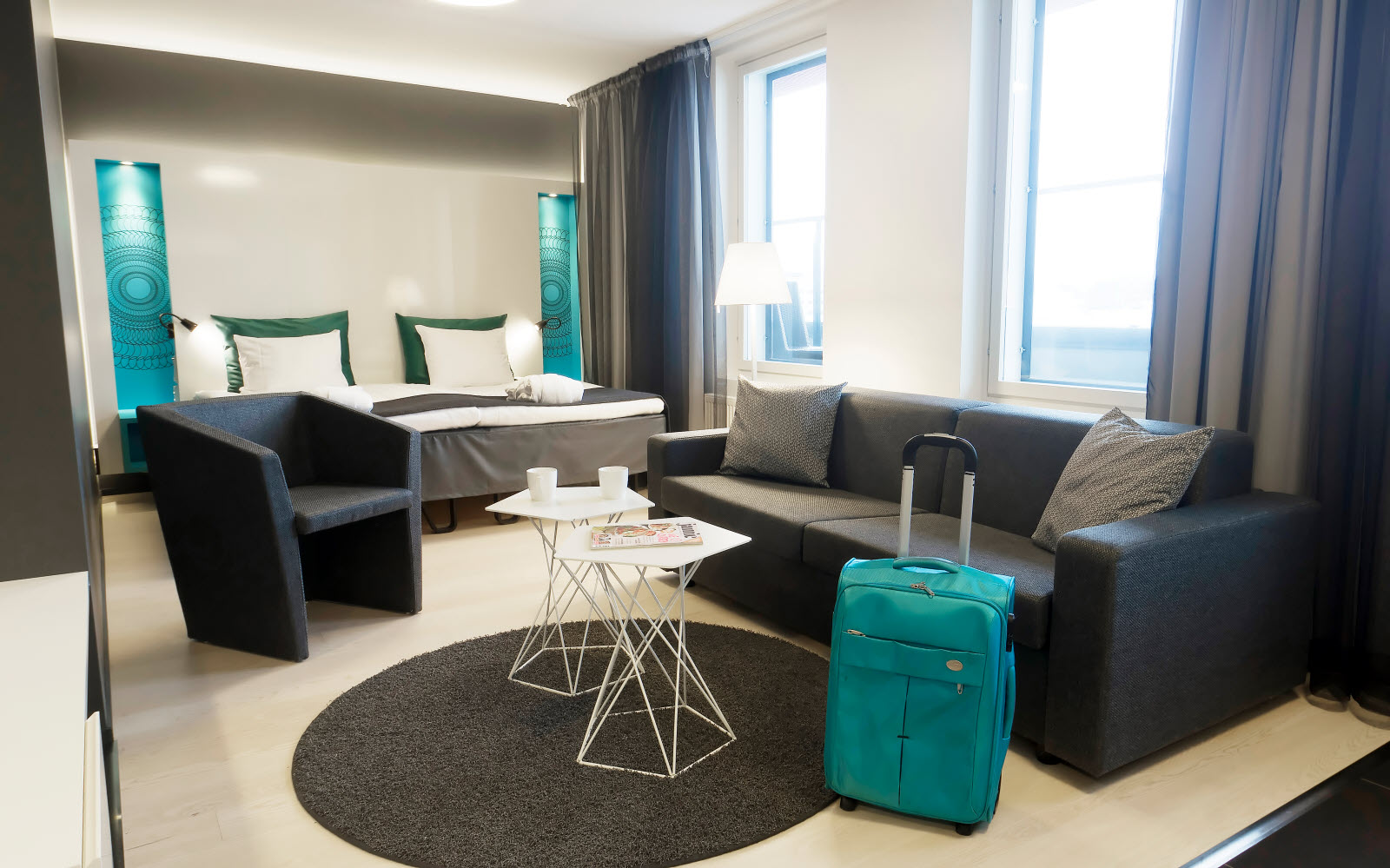 Scandic Tampere Station, room, family plus