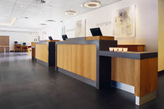 Scandic Asker, Reception, lobby
