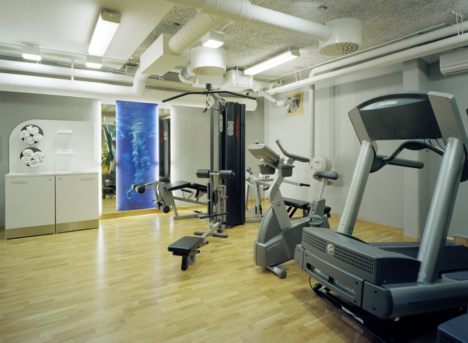 Scandic Kungens Kurva, Gym