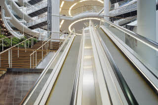Scandic infra City, escalators