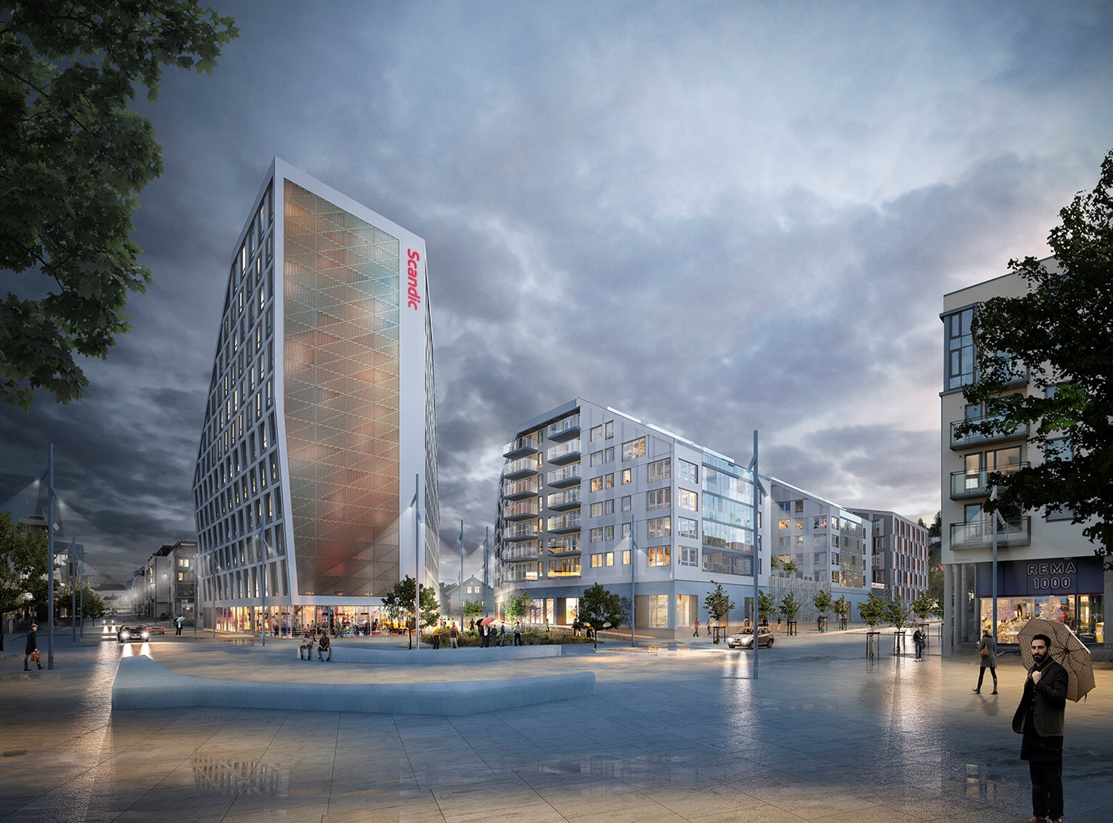 Scandic Lillestrom in Norway, to be opened 2018.