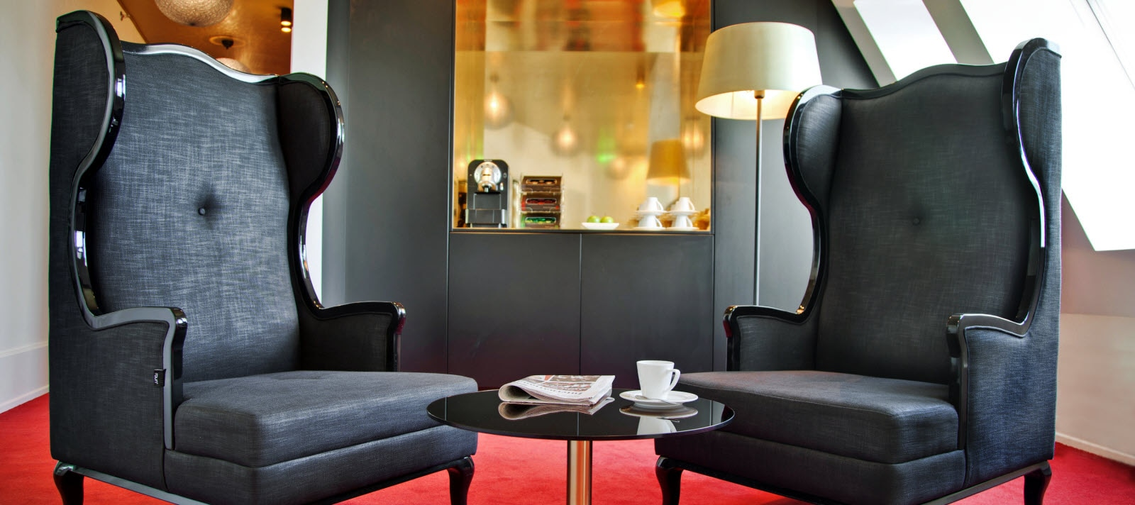 Scandic Palace Hotel Copenhagen, business lounge